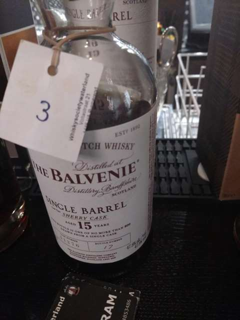 The Balvenie 15 year old cask 11276