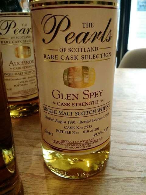 Glen Spey 1991/2016 cask 2533 - Gordon & Company