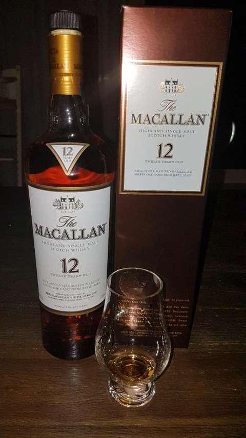 The Macallan 12 year old Sherry Oak