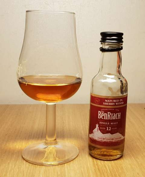 The BenRiach 12 year old Sherry Matured