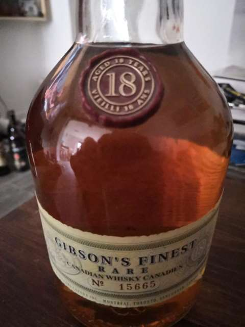 Gibson's 18 year old Finest Rare