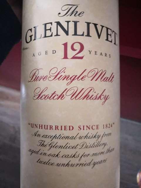 The Glenlivet 12 year old 80s/90s