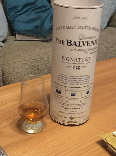 The Balvenie 12 year old Signature