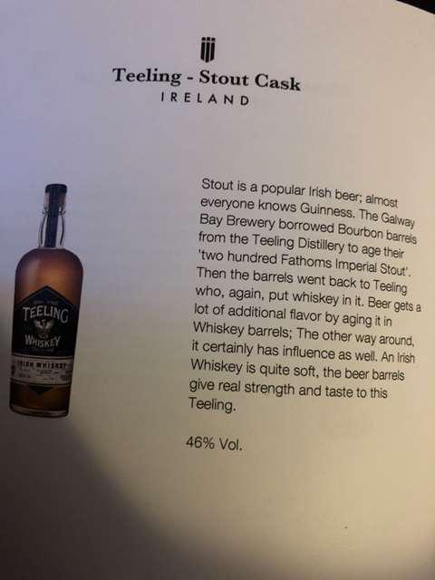 Teeling Stout Cask 2017 Release