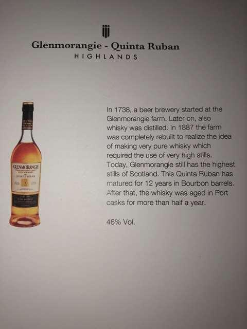 Glenmorangie 12 year old Quinta Ruban