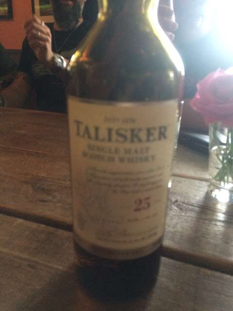 Talisker 25 year old
