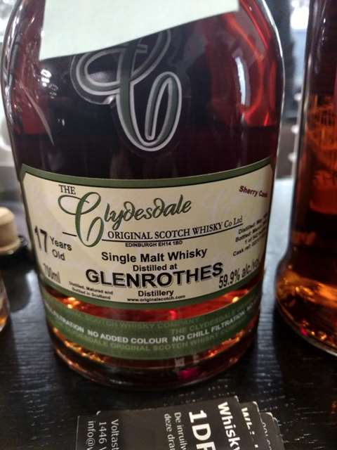 The Glenrothes 17 year old 1990/2008 cask 0221/11001