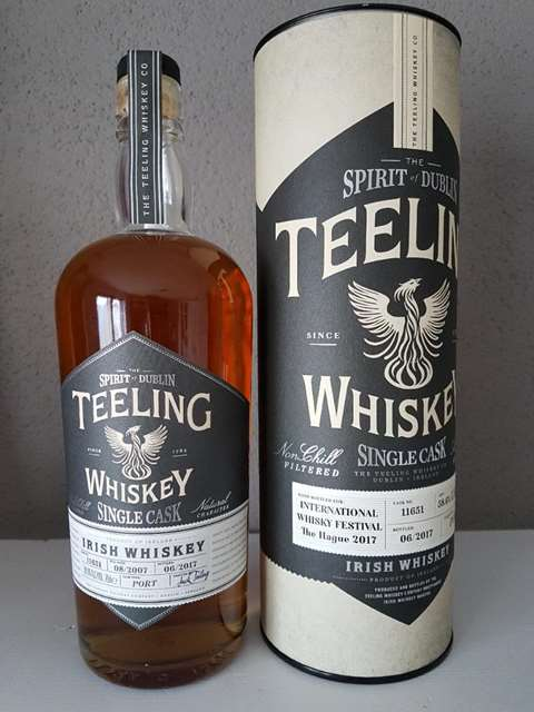 Teeling International Whisky Festival 2017 cask 11651