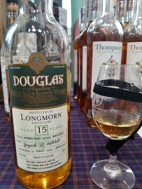Longmorn 15 year old 1999 cask 11402 - Douglas of Drumlanrig