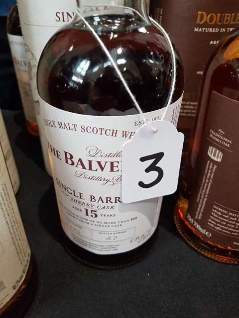 The Balvenie 15 year old Single Barrel