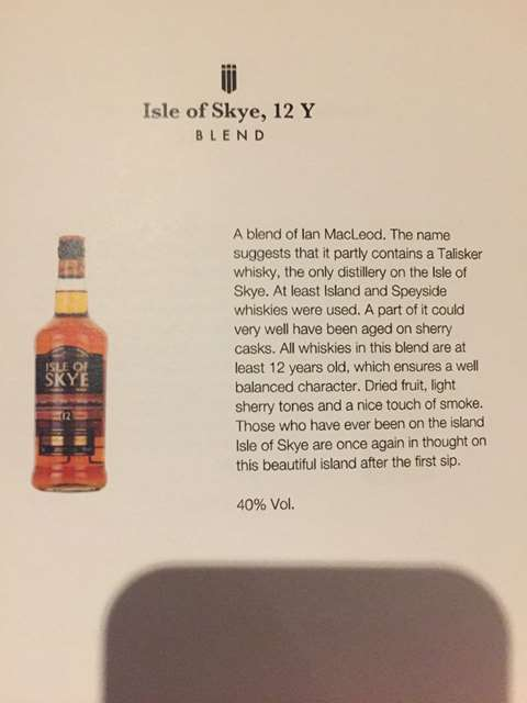 Isle of Skye 12 year old