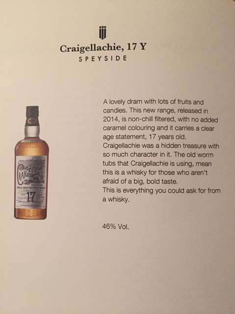 Craigellachie 17 year old