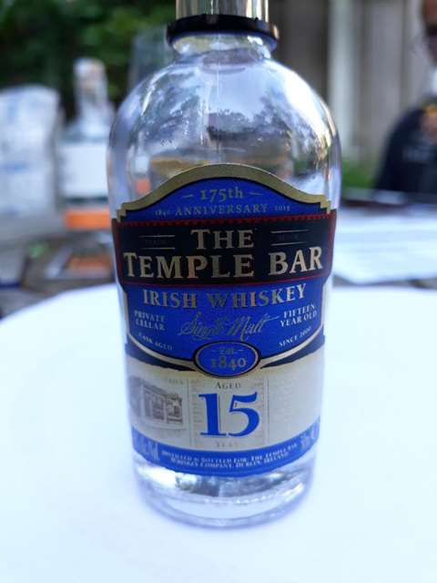 The Temple Bar 15 year old 175th Anniversary
