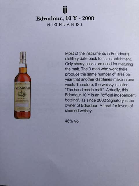 Edradour 10 year old 2005/2015 cask 231