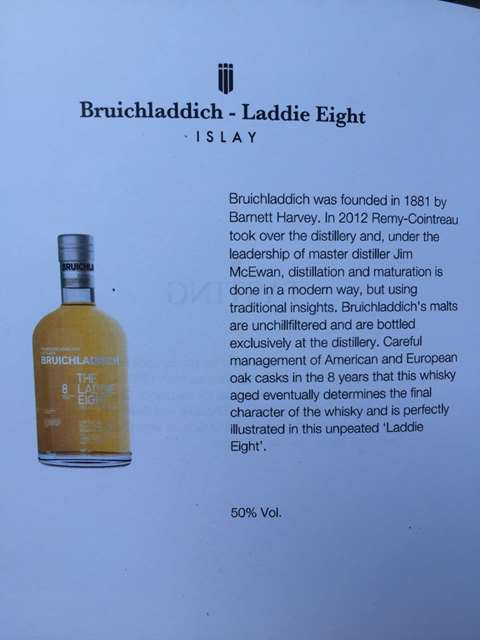 Bruichladdich 8 year old The Laddie Eight