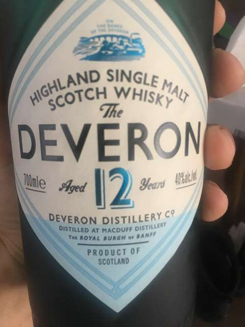 The Deveron 12 year old