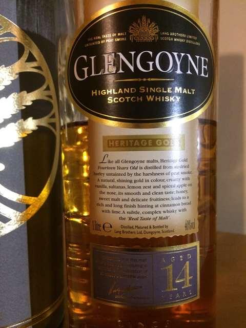 Glengoyne 14 year old Heritage Gold