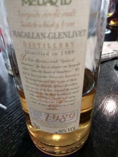 Murray McDavid 1989/1998 Macallan-Glenlivet cask MM7786