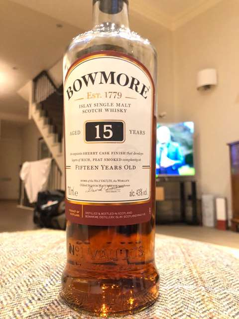 Bowmore 15 year old Sherry Cask Finish