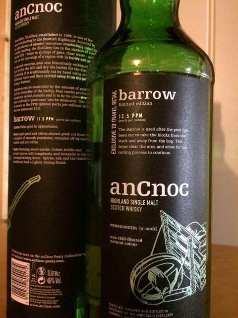 AnCnoc Barrow 13.5PPM