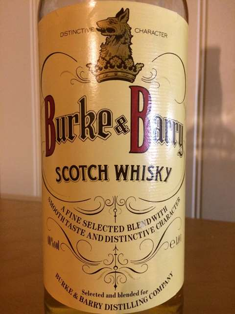 Burke & Barry Scotch Whisky