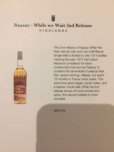 Raasay While We Wait 2nd Release