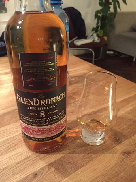 The GlenDronach 8 year old The Hielan'
