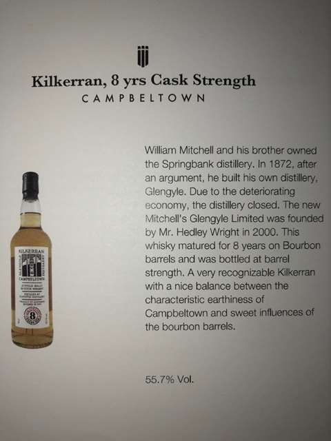 Kilkerran 8 year old 2009/2017