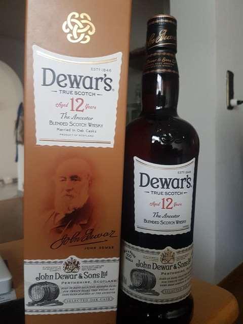 Dewar's 12 year old The Ancestor