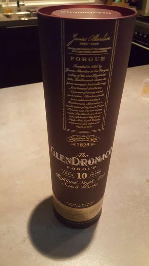 The GlenDronach 10 year old The Forgue