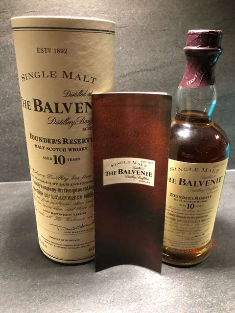 The Balvenie 10 year old Founder's Reserve