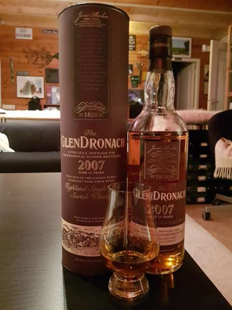 The GlenDronach 11 year old 2007/2018