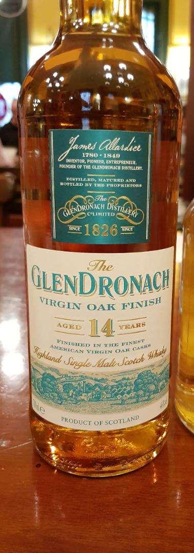 The GlenDronach 14 year old Virgin Oak Finish