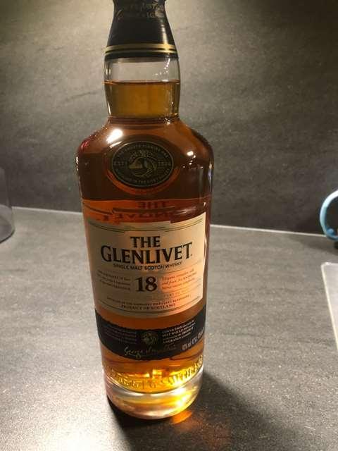The Glenlivet 18 year old