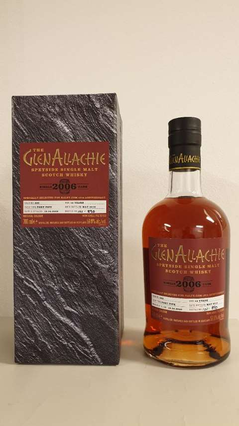 Glenallachie 13 year old 2006/2019 Cask Strength cask 866