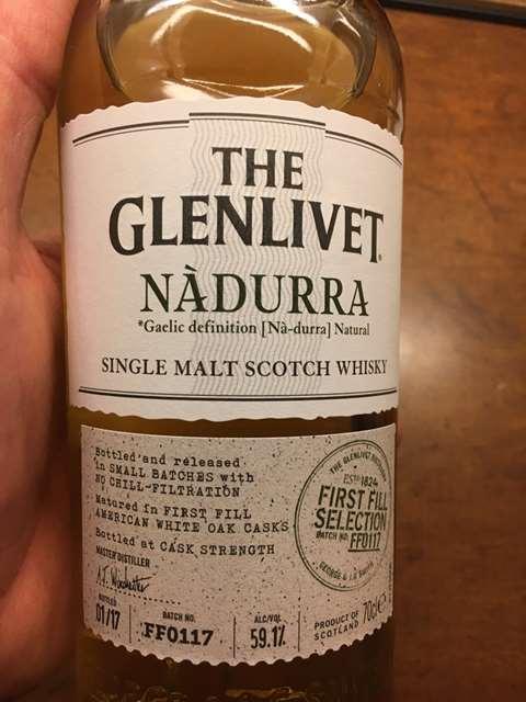 The Glenlivet Nàdurra Batch FF0117
