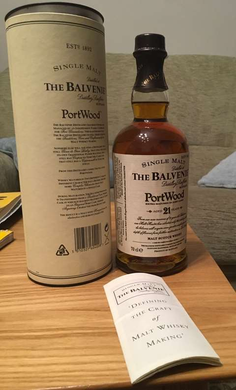 The Balvenie 21 year old Portwood