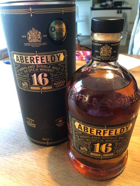 Aberfeldy 16 year old Finished in Madeira Casks