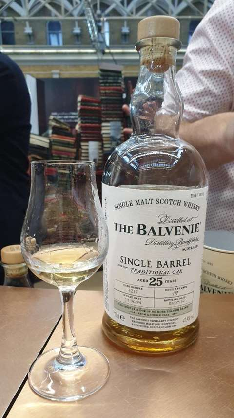 The Balvenie 25 year old 1994/2019 cask 4217