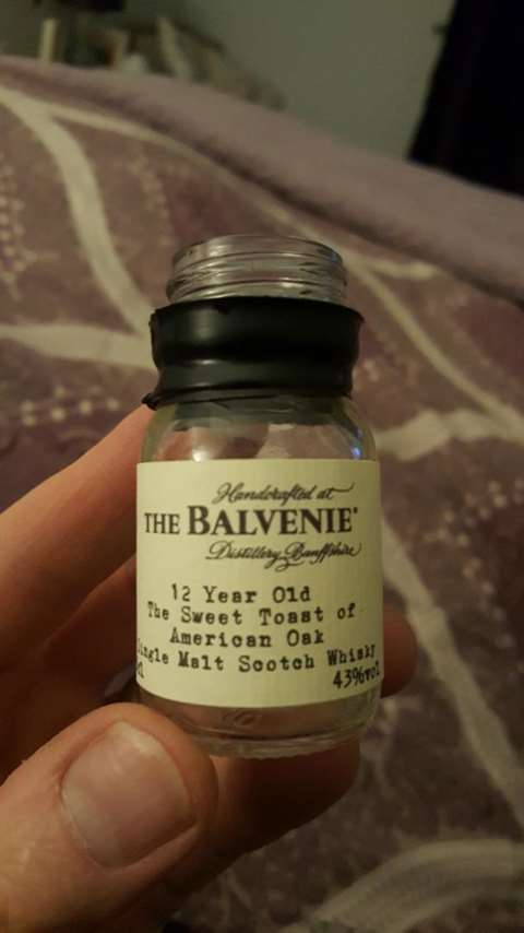The Balvenie 12 year old  The Sweet Toast of American Oak
