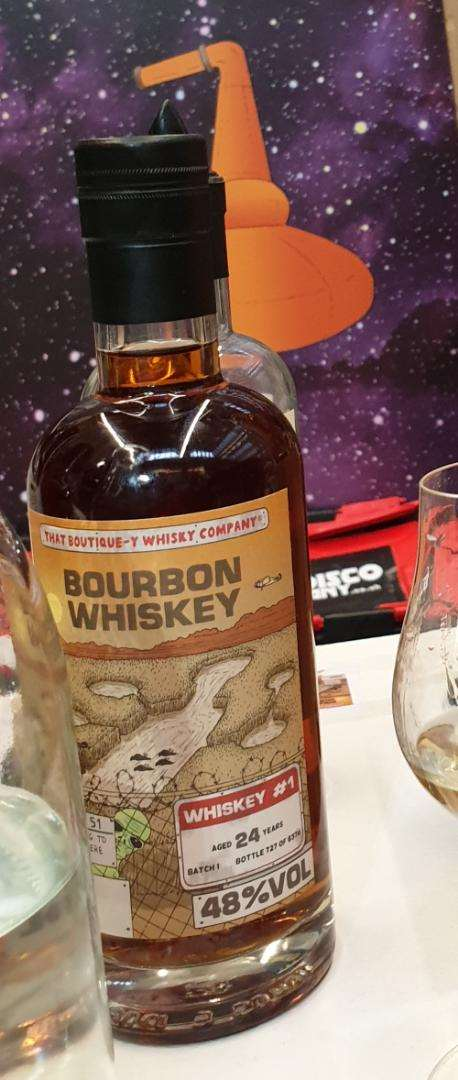 That Boutique-y Whisky Company 24 year old Bourbon Whiskey #1