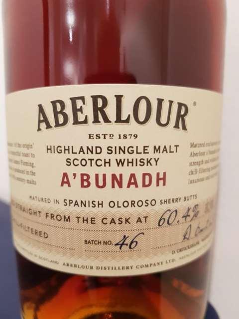 Aberlour A'bunadh Batch 46