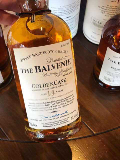 The Balvenie 14 year old GoldenCask