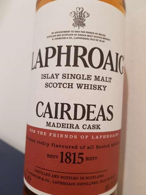 Laphroaig Cairdeas 2016 Madeira casks