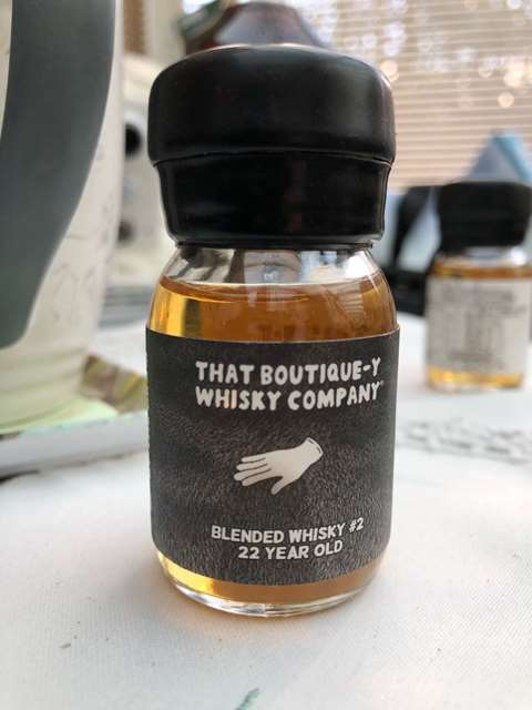 That Boutique-y Whisky Company 22 year old Blended Whisky #2 batch 3