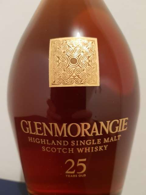 Glenmorangie 25 year old