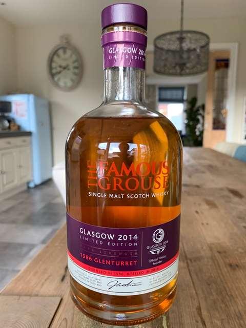 The Famous Grouse 1986 Glenturret - Glasgow 2014
