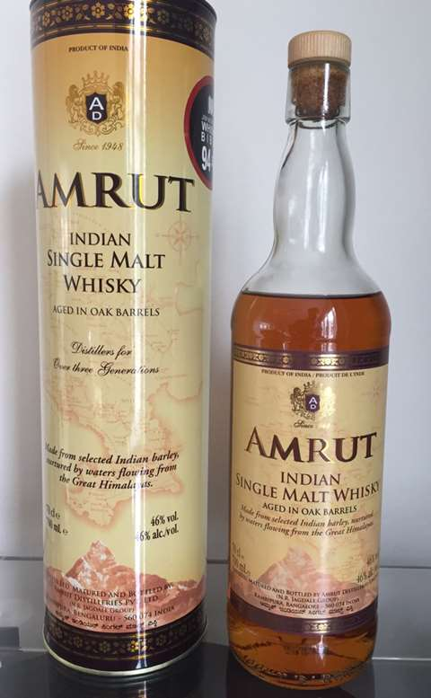 Amrut Indian Malt Whisky