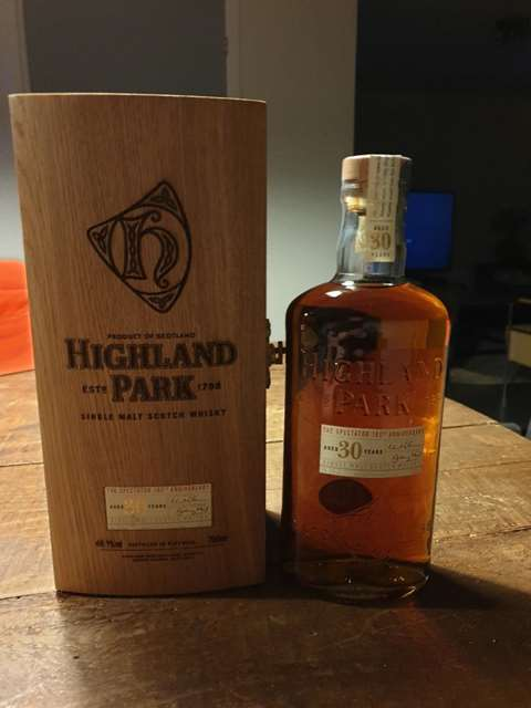 Highland Park 30 year old The Spectator Special Edition