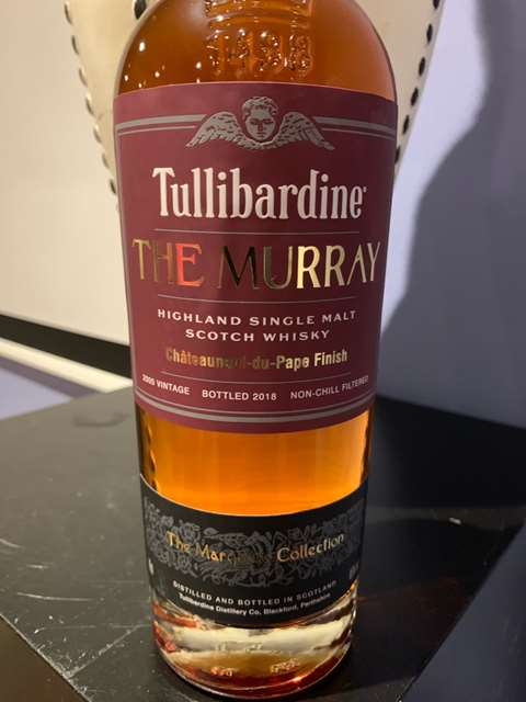 Tullibardine 2014/2017 The Murray Châteauneuf-du-Pape Finish